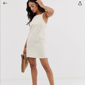 ASOS Design buckle back mini dress size US 2